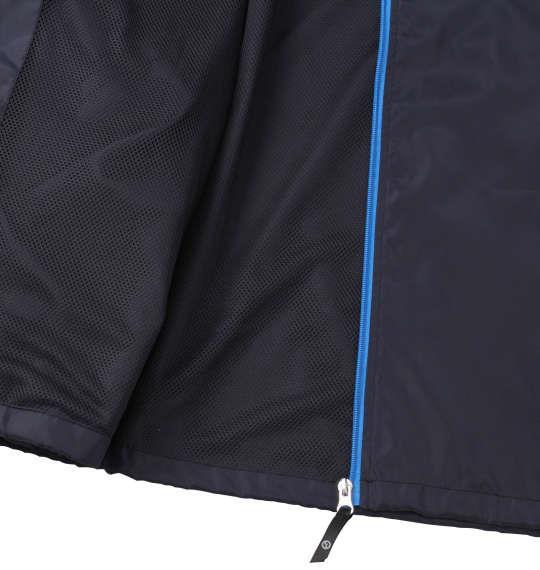 大きいサイズ メンズ OUTDOOR PRODUCTS タフタ 裏メッシュ ウインドブレーカー ネイビー 1153-9350-1 3L 4L 5L 6L 8L