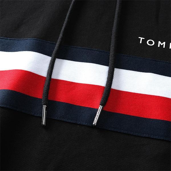 【冬最終】大きいサイズ メンズ TOMMY HILFIGER トミーヒルフィガー ロゴ スウェット プルオーバー パーカー USA直輸入 mw0mw14542