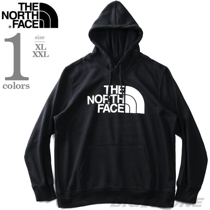 大きいサイズ メンズ THE NORTH FACE ザ ノース フェイス ロゴプリント プルオーバー パーカー HALF DOME PULLOVER HOODIE USA直輸入 nf0a4m4b