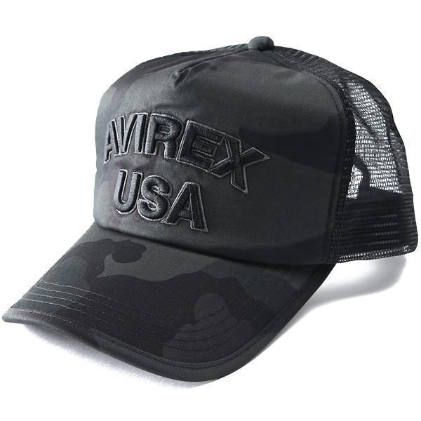 【ss0409】メンズ AVIREX アヴィレックス メッシュ キャップ 帽子 USA直輸入 14308600