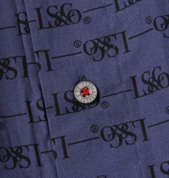大きいサイズ メンズ Levi's 2P ロゴ柄 トランクス ネイビー × ブラック 1249-1201-1 3L 4L 5L 6L 8L
