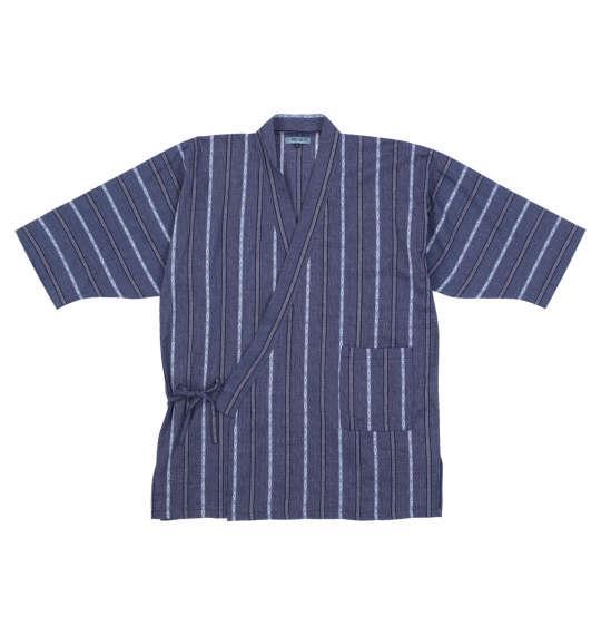 【2021jin】大きいサイズ メンズ Mc.S.P 作務衣 ネイビー 1259-1220-1 3L 4L 5L 6L 7L