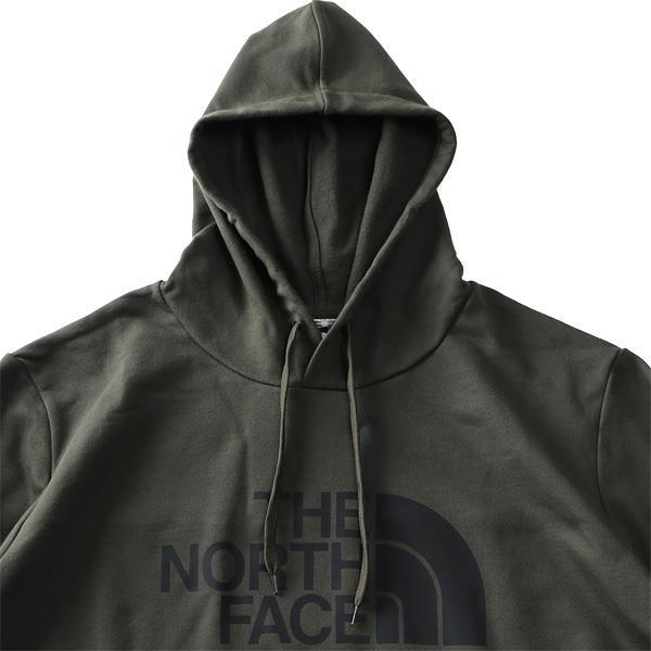 大きいサイズ メンズ THE NORTH FACE ザ ノース フェイス ロゴプリント プルオーバー パーカー HALF DOME PULLOVER HOODIE USA直輸入 nf0a4m8l