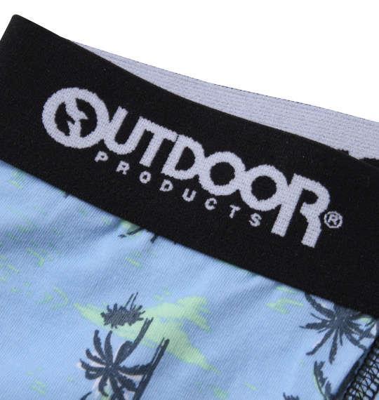 大きいサイズ メンズ OUTDOOR PRODUCTS ヤシの木 ボクサーパンツ ブルー 1249-1223-2 3L 4L 5L 6L