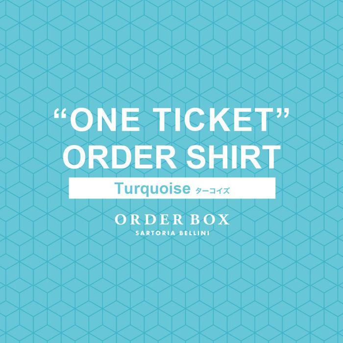 ONE ORDER SHIRTSお仕立てチケット Turquoise(ターコイズ)