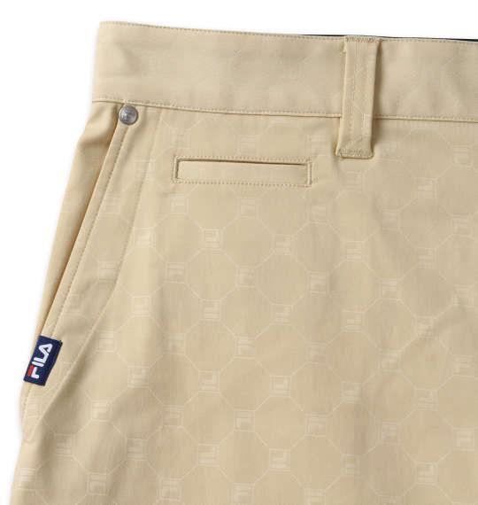 【golf2】大きいサイズ メンズ FILA GOLF ストレッチ ツイル パンツ ベージュ 1274-1240-2 100 105 110 115 120 130