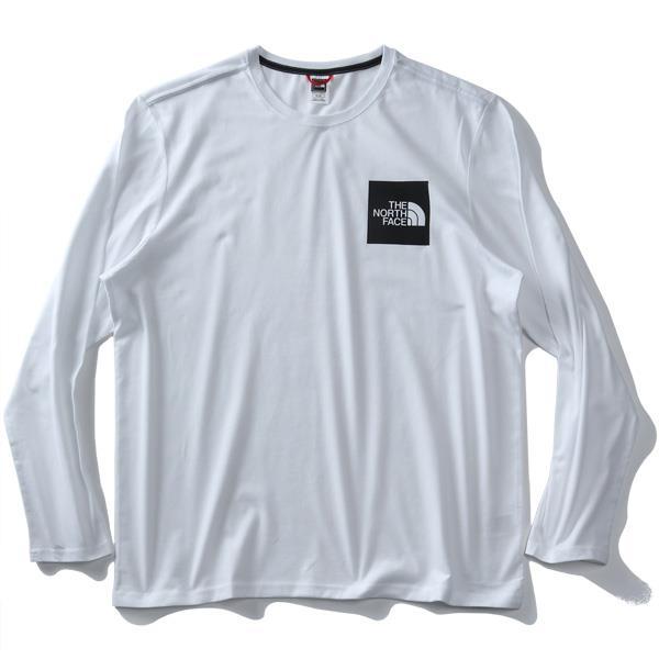 【bbar0610】大きいサイズ メンズ THE NORTH FACE ザ ノース フェイス プリント 長袖 Tシャツ FINE TEE USA直輸入 nf0a37ft