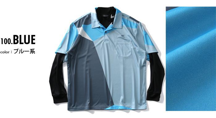 大きいサイズ メンズ LINKATION ゴルフ ポロシャツ アンサンブル アスレジャー スポーツウェア 春夏新作 la-pr210276