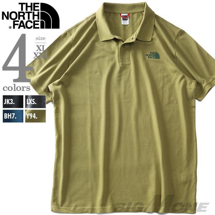 大きいサイズ メンズ THE NORTH FACE ザ ノース フェイス 鹿の子 半袖 ポロシャツ POLO PIQUET USA直輸入 nf00cg71