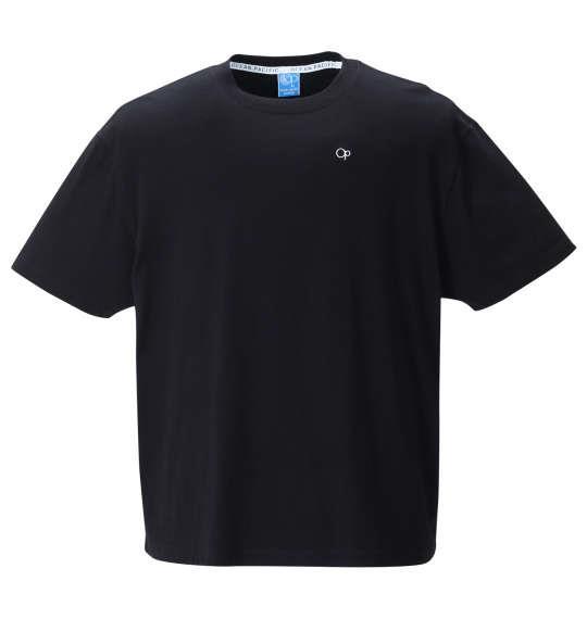 大きいサイズ メンズ OCEAN PACIFIC プリント 半袖 Tシャツ ブラック 1278-1570-2 3L 4L 5L 6L 8L