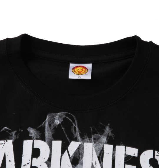 大きいサイズ メンズ 新日本プロレス EVIL「DARKNESS CLUB」 半袖 Tシャツ ブラック 1278-1592-1 3L 4L 5L 6L 8L