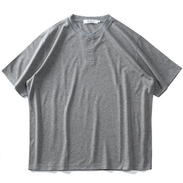 【ss0430】大きいサイズ メンズ DANIEL DODD 半袖 ヘンリーネック Tシャツ + ショーツ 上下セット 春夏新作 azts-210201