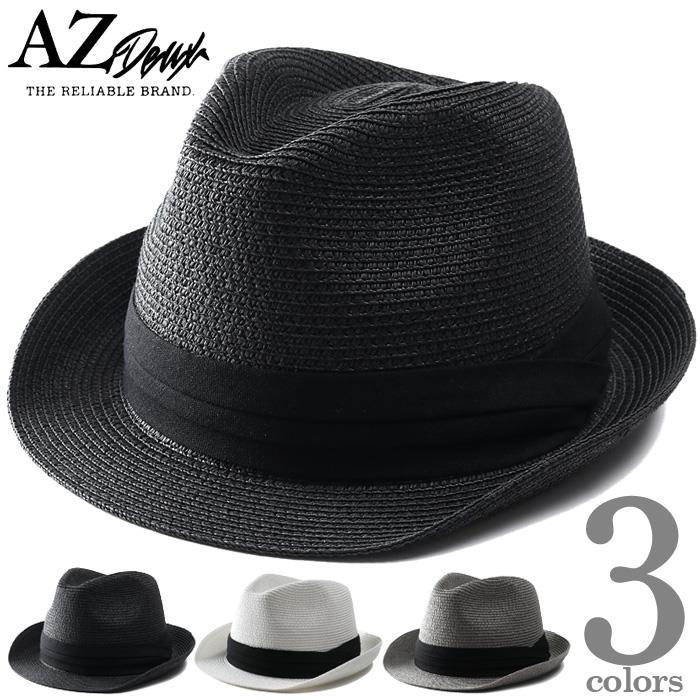 【ga0722】大きいサイズ メンズ AZ DEUX 中折れ ペーパー ハット 帽子 azh-210302