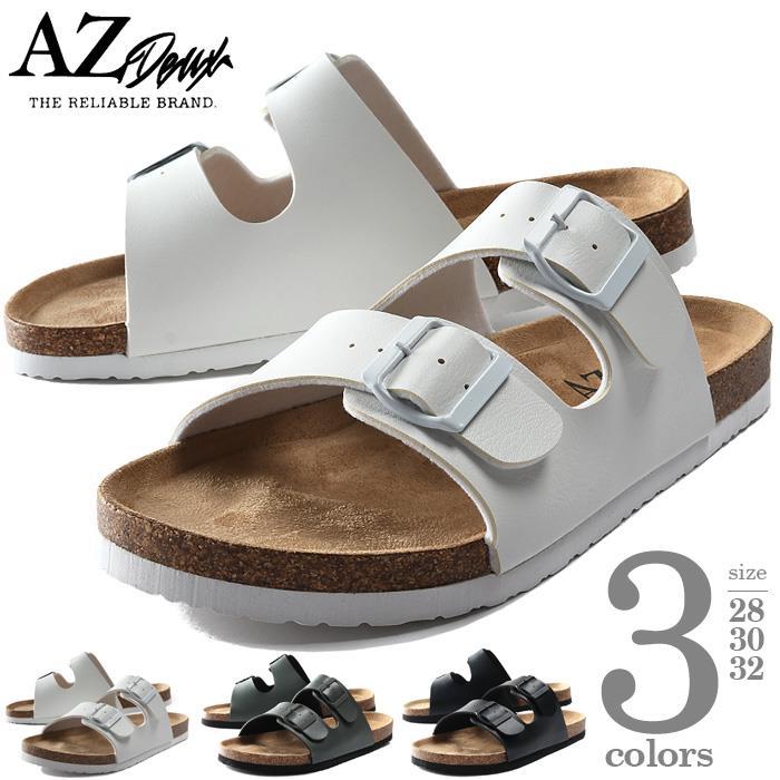 【ga0722】大きいサイズ メンズ AZ DEUX PVC 2ストラップ サンダル 春夏新作 491-200301