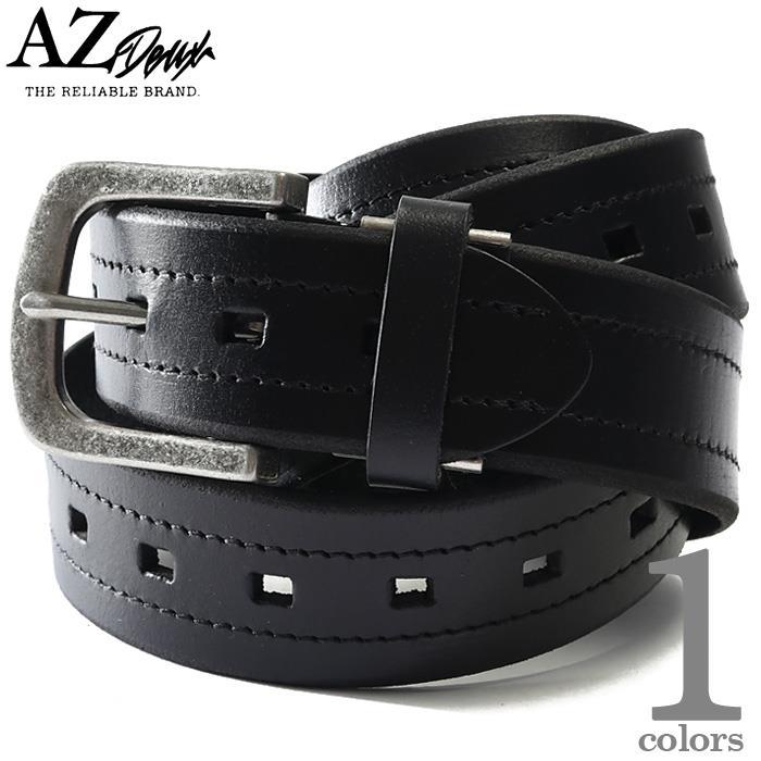 【Fbar210610】大きいサイズ メンズ AZ DEUX レザー ベルト ロングサイズ 春夏新作 azcl-219045