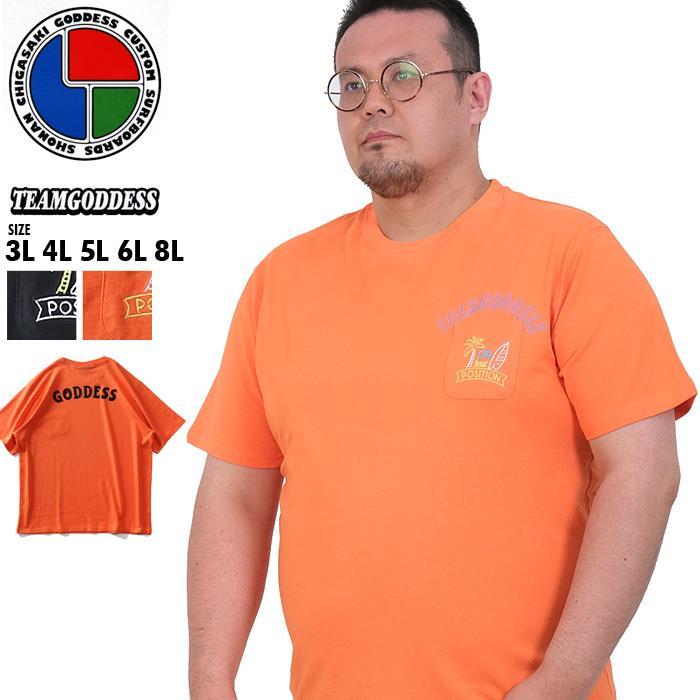 大きいサイズ メンズ GODDESS ゴッデス 半袖 プリント Tシャツ 春夏新作 go-22250k