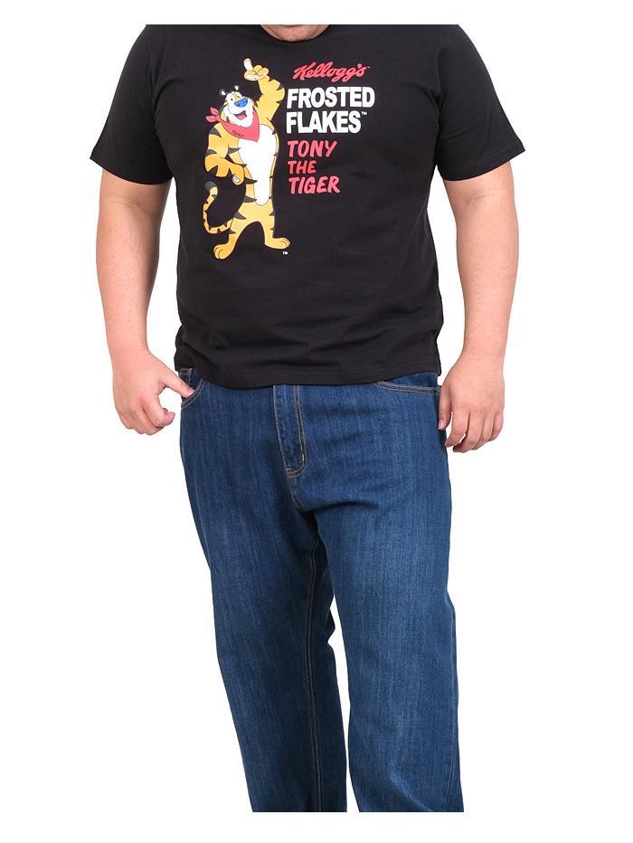 【Fbar210610】大きいサイズ メンズ KELLOGG ケロッグ 半袖 プリント Tシャツ 春夏新作 kg-22245k