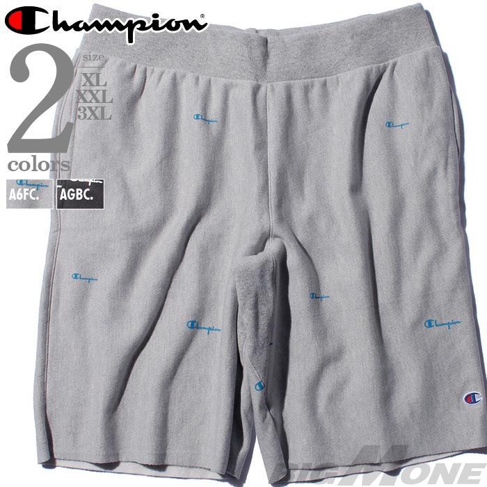 【bbar0610】大きいサイズ メンズ Champion チャンピオン ショーツ ショートパンツ ハーフパンツ USA直輸入 89597p