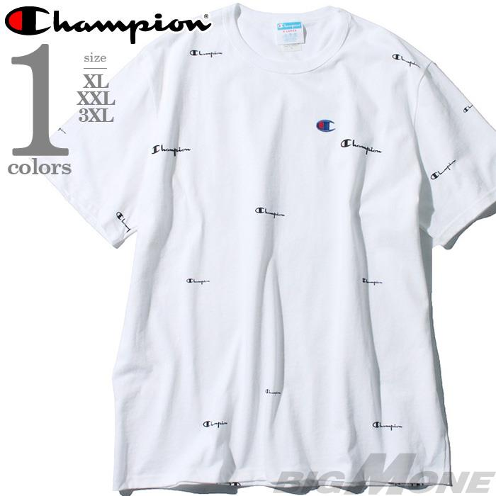 【bbar0610】大きいサイズ メンズ Champion チャンピオン 半袖 ロゴ Tシャツ USA直輸入 t1919s-549967