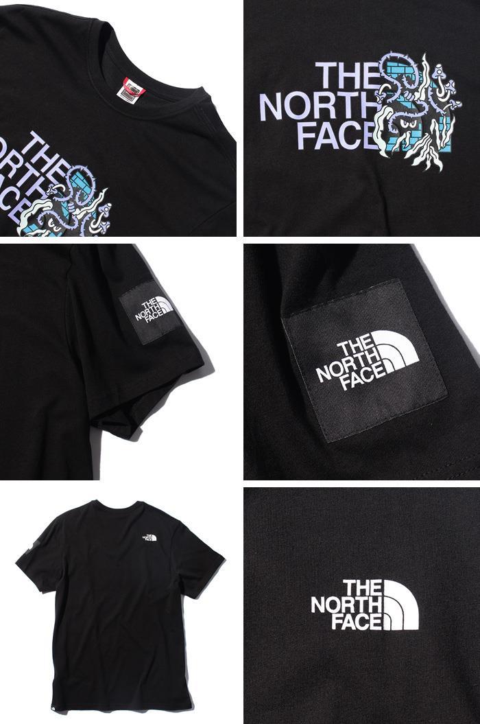 【bbar0610】大きいサイズ メンズ THE NORTH FACE ザ ノース フェイス プリント 半袖 Tシャツ USA直輸入 nf0a557l