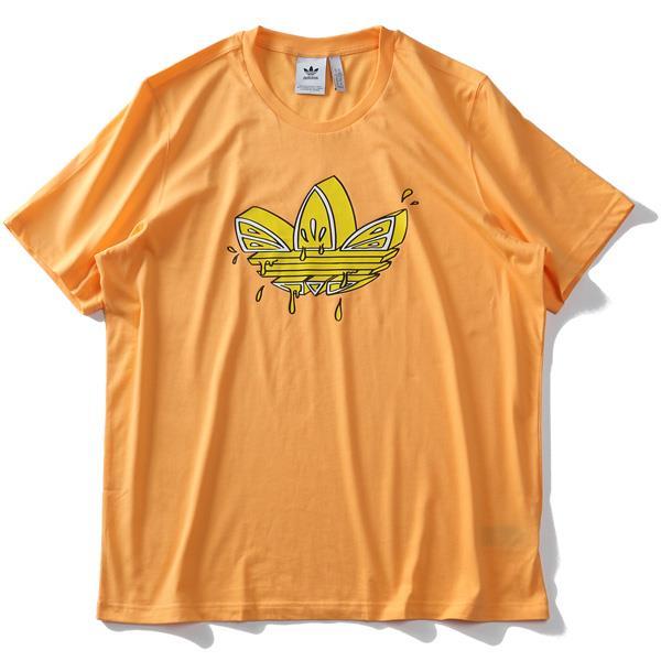【ss0730】大きいサイズ メンズ ADIDAS アディダス プリント 半袖 Tシャツ LEMON TEE USA直輸入 gn3129