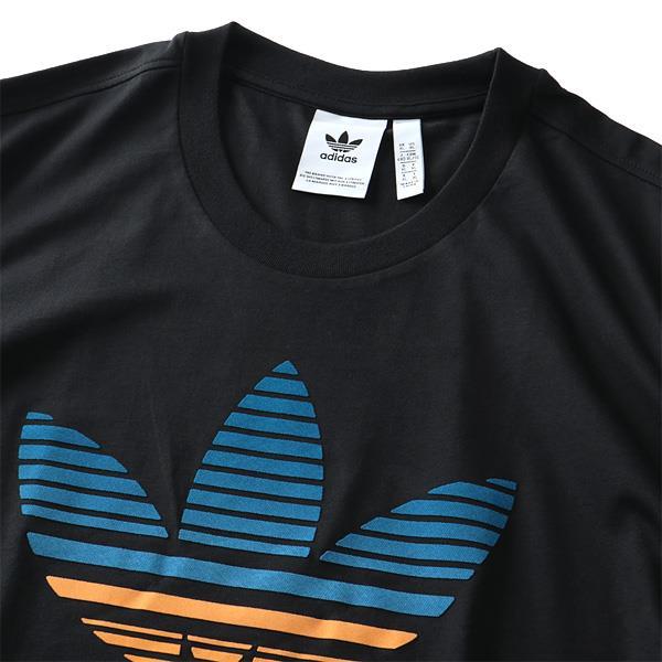 大きいサイズ メンズ ADIDAS アディダス トレフォイルロゴ 半袖 Tシャツ TREFOIL OMBRE TEE USA直輸入 gp0166