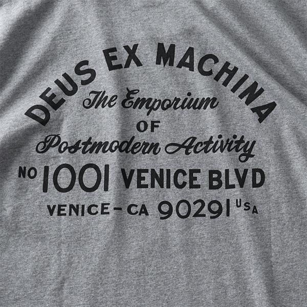 大きいサイズ メンズ DEUS EX MACHINA デウス エクス マキナ プリント 半袖 Tシャツ VENICE ADDRESS TEE USA直輸入 t-dms41065a