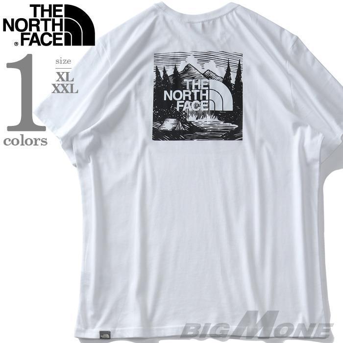 【ss0722】大きいサイズ メンズ THE NORTH FACE ザ ノース フェイス プリント 半袖 Tシャツ REDBOX CEL TEE USA直輸入 nf0a2zxe