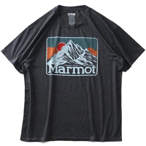 大きいサイズ メンズ Marmot マーモット プリント 半袖 Tシャツ Mountain Peaks Tee USA直輸入 33390