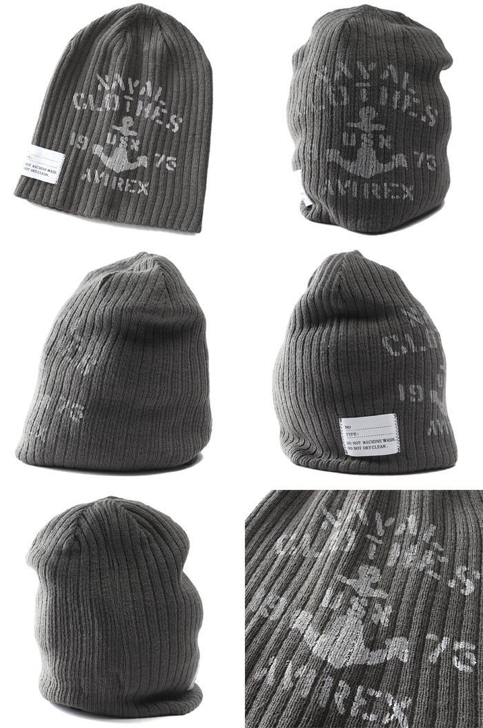 メンズ AVIREX アヴィレックス ニットキャップ ニット帽 帽子 USA直輸入 14843600