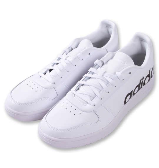 大きいサイズ メンズ adidas スニーカー ADIHOOPS 2.0 LTS M フットウェア ホワイト 1240-1333-1 30 31